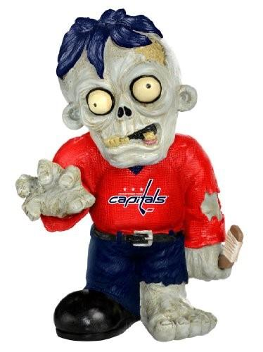 Washington Capitals Zombie Red Jersey FOCO Statue Washington Capitals Bobblehead