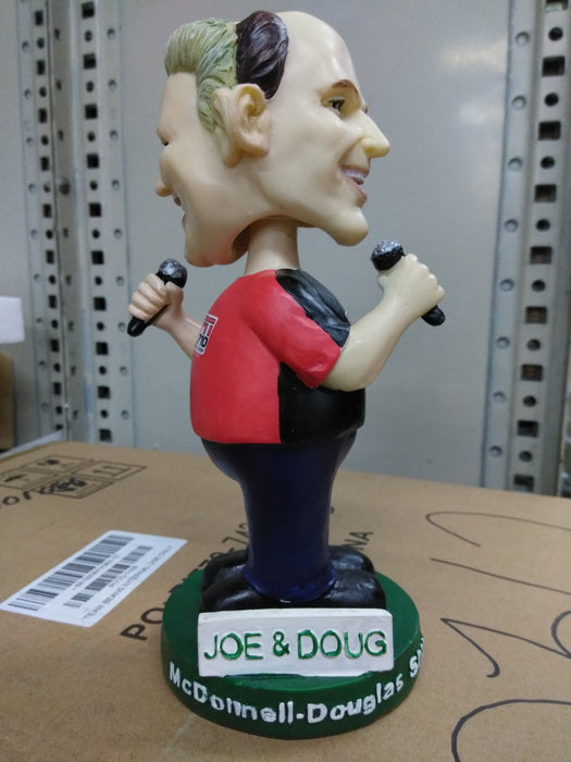 JOE AND DOUG SHOW DOUBLE BOBBLE Bobblehead