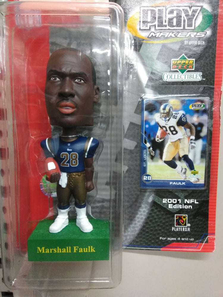 Marshall Faulk St Louis Rams  Bobblehead