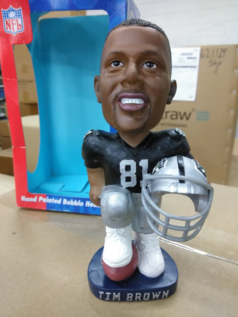 Tim Brown Oakland Raiders  Bobblehead
