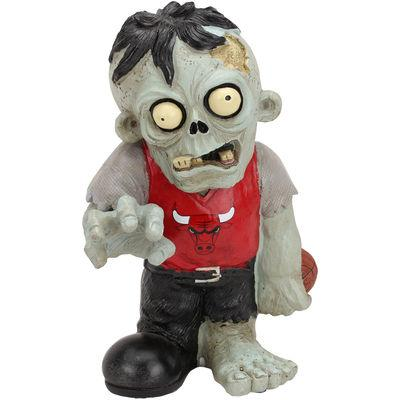 Chicago Bulls Zombie in a Red Shirt FOCO Statue Chicago Bulls Bobblehead