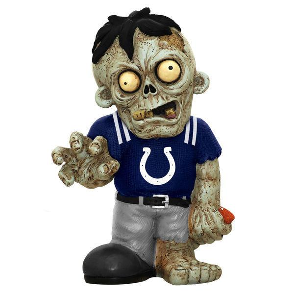 Indianapolis Colts Zombie Blue Shirt FOCO Statue Indianapolis Colts Bobblehead