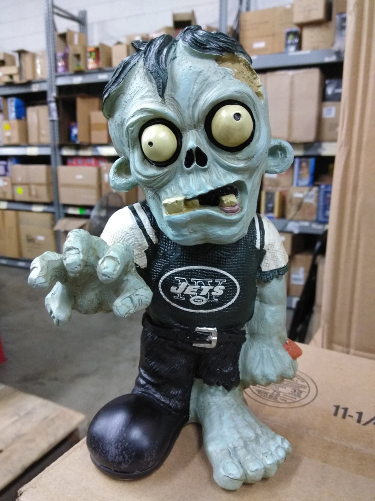 New York Jets Zombie in Green NY Jets Shirt New York Jets Bobblehead