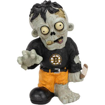 Boston Bruins Zombie Black Shirt FOCO Statue Boston Bruins Bobblehead
