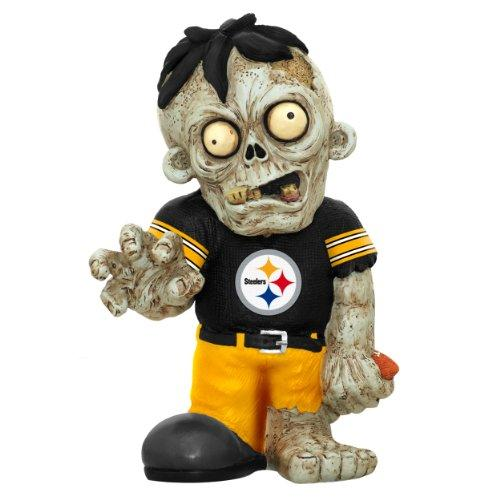 Pittsburgh Steelers Zombie Black Shirt FOCO Statue Bobblehead