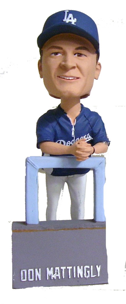 Don Mattingly Los Angeles Dodgers Manager Bobble Los Angeles Dodgers Bobblehead
