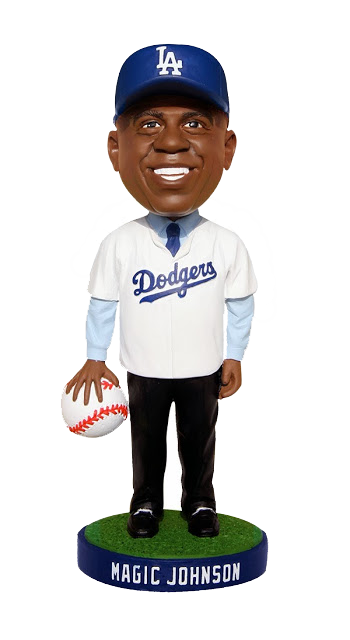 Magic Johnson Bobblehead - BobblesGalore