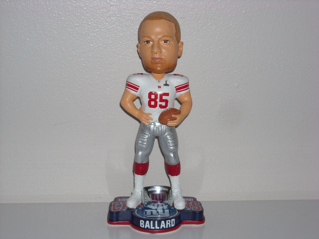Jake Ballard NY Giants SB 46 XLVI Bobble FOCO New York Giants Bobblehead