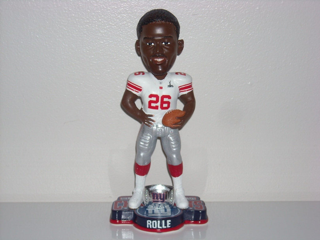 Antrel Rolle NY Giants SB 46 XLVI Bobble FOCO New York Giants Bobblehead