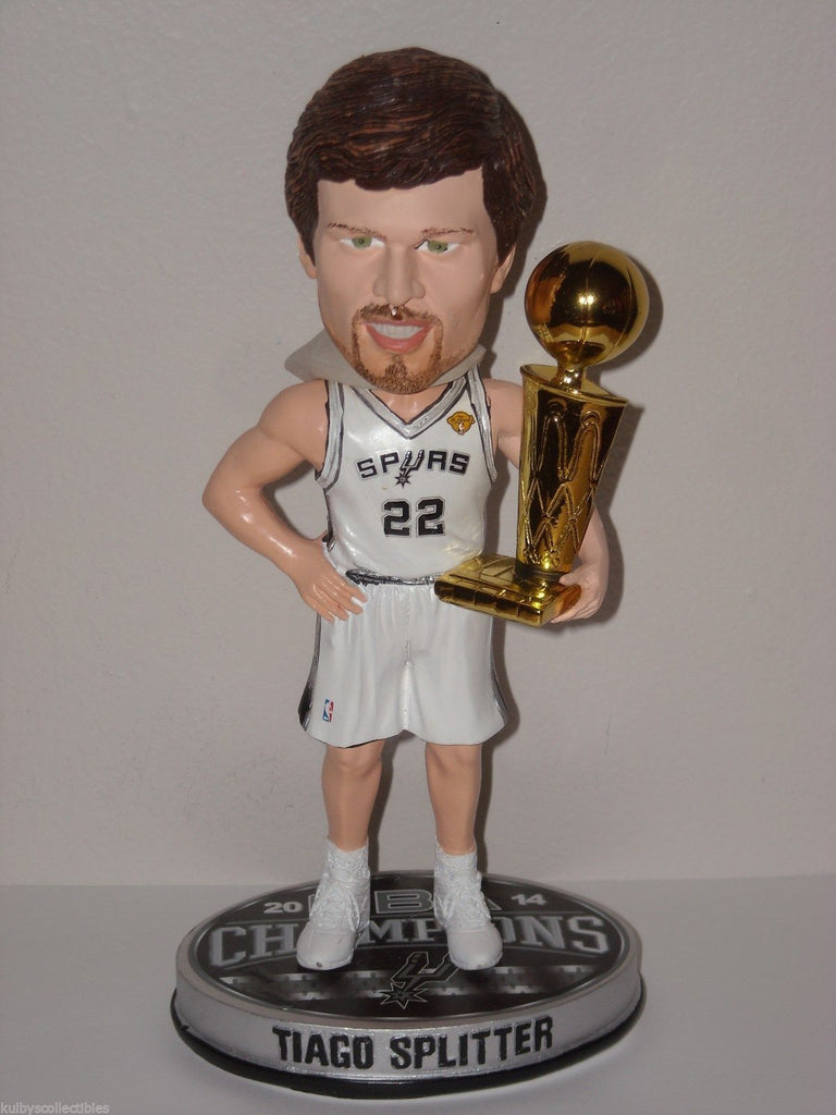 Tony Splitter San Antonio Spurs NBA Champ '14 Bobl Bobblehead