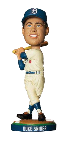 Duke Snider LA Dodgers SGA 8/9/11 1980 HOF Bobble Los Angeles Dodgers Bobblehead
