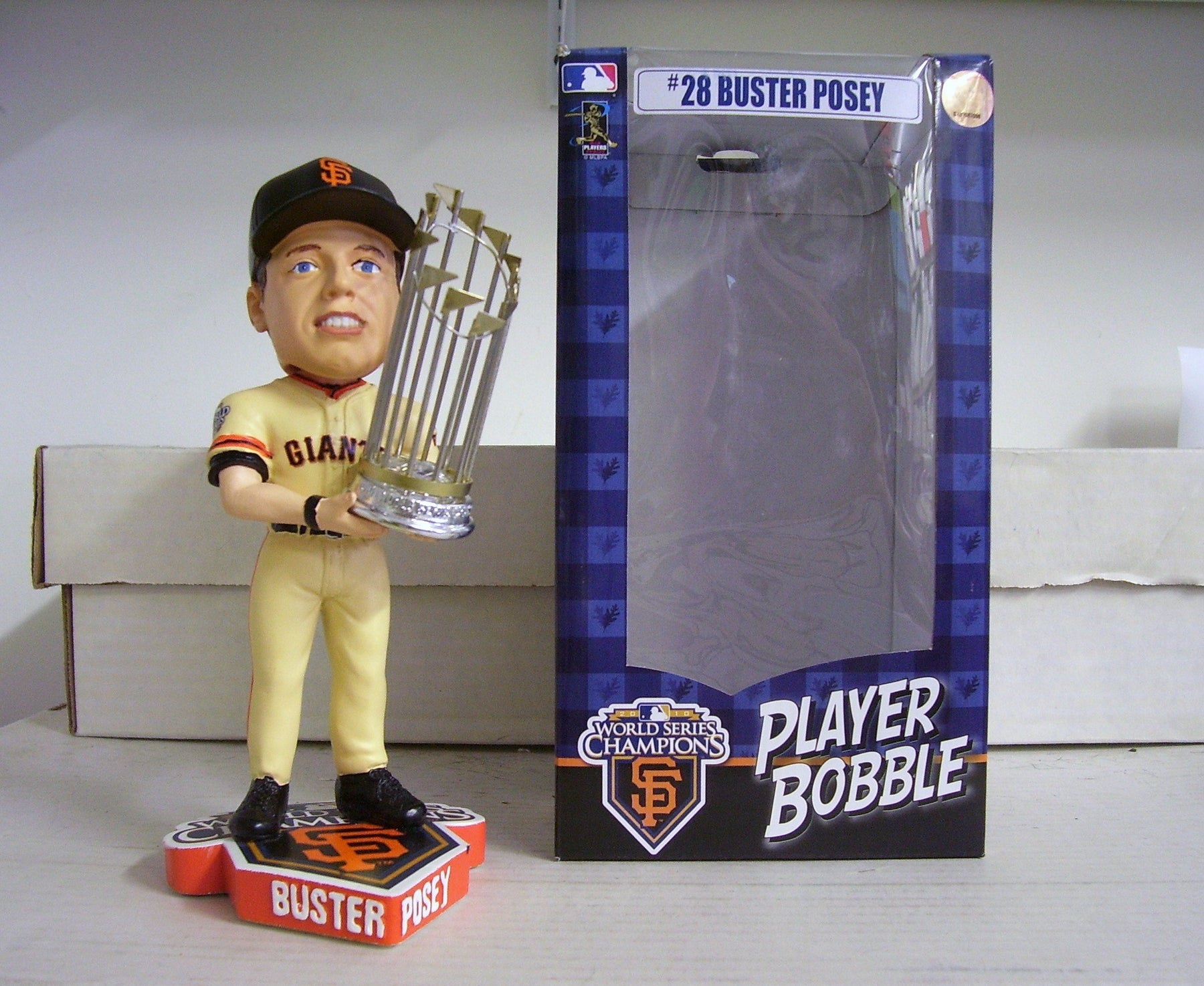 Buster Posey 2010 World Series SF GIANTS Bobble San Francisco Giants Bobblehead
