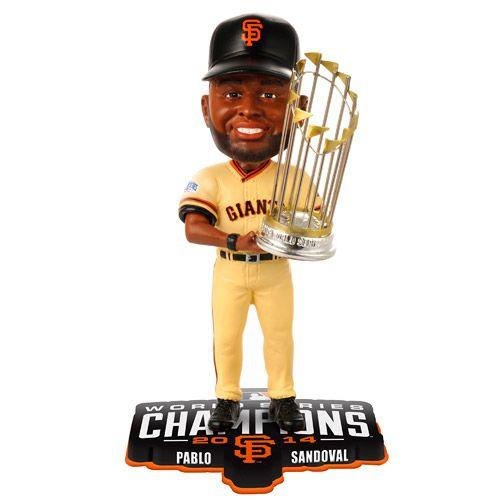 Pablo Sandoval 2014 World Series SF GIANTS Bobble Bobblehead