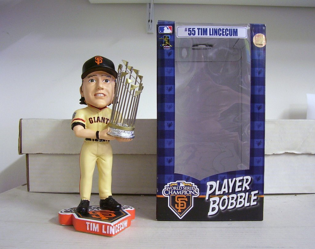 Tim Lincecum 2010 World Series SF GIANTS Bobble San Francisco Giants Bobblehead