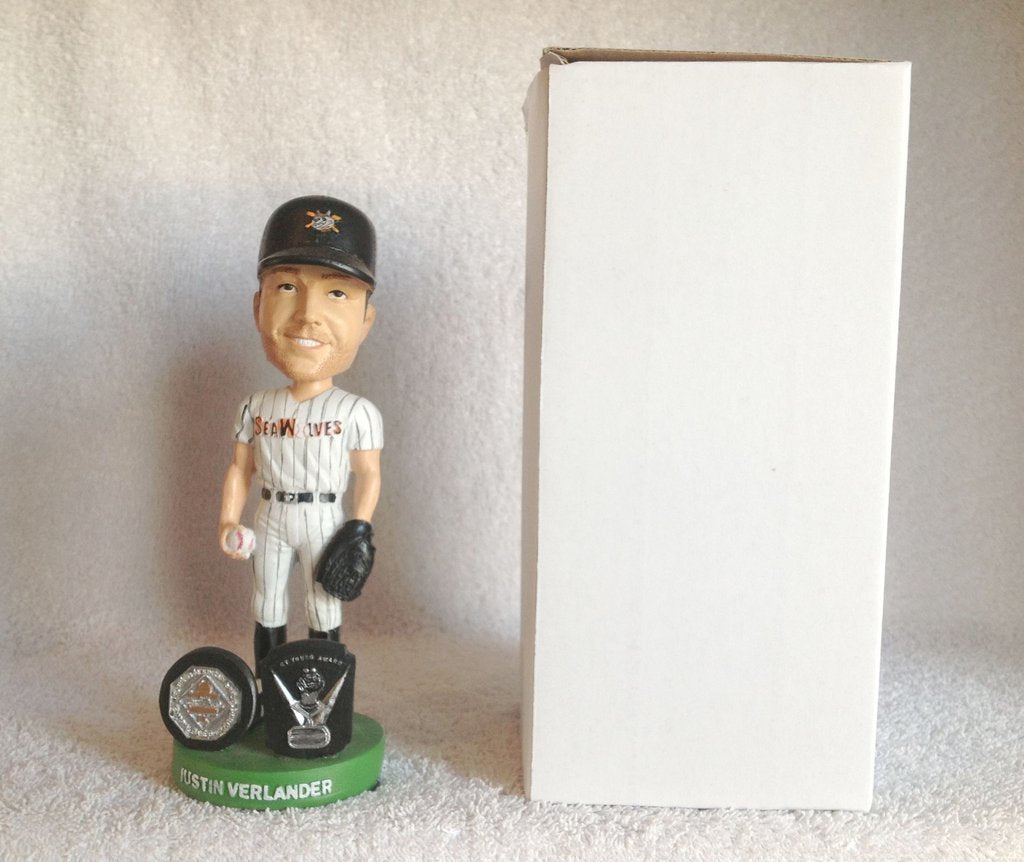 Justin Verlander MVP CY Young Boble Erie Seawolves Erie Seawolves Bobblehead