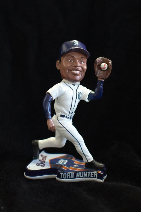 Torii Hunter Detroit Tigers Flag Base FOCO 2013 Bobblehead
