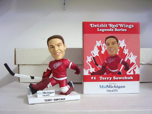 'Terry Sawchuk 2011 Red Wings /  Loons Bobble SGA Detroit Red Wings Bobblehead