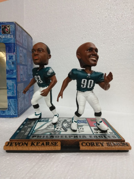 KEARSE 93 SIMON 90 EAGLES LEGENDS Bobblehead
