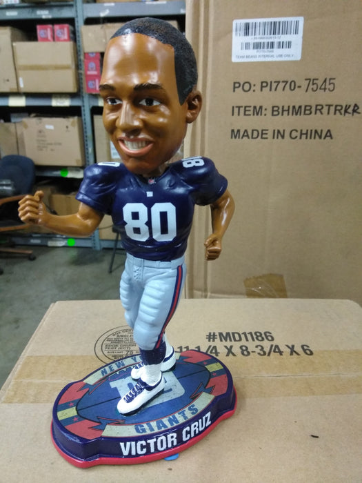 Victor Cruz Salsa Dance New York Giants Bobble '12 New York Giants Bobblehead