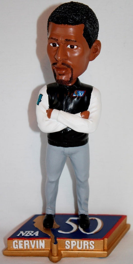 George Gervin San Antonio Spurs NBA 50 Greatest Bobblehead