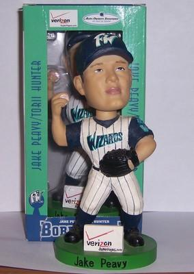 Jake Peavy Fort Wayne Wizards SGA - 08/31/03 Bobblehead MiLB