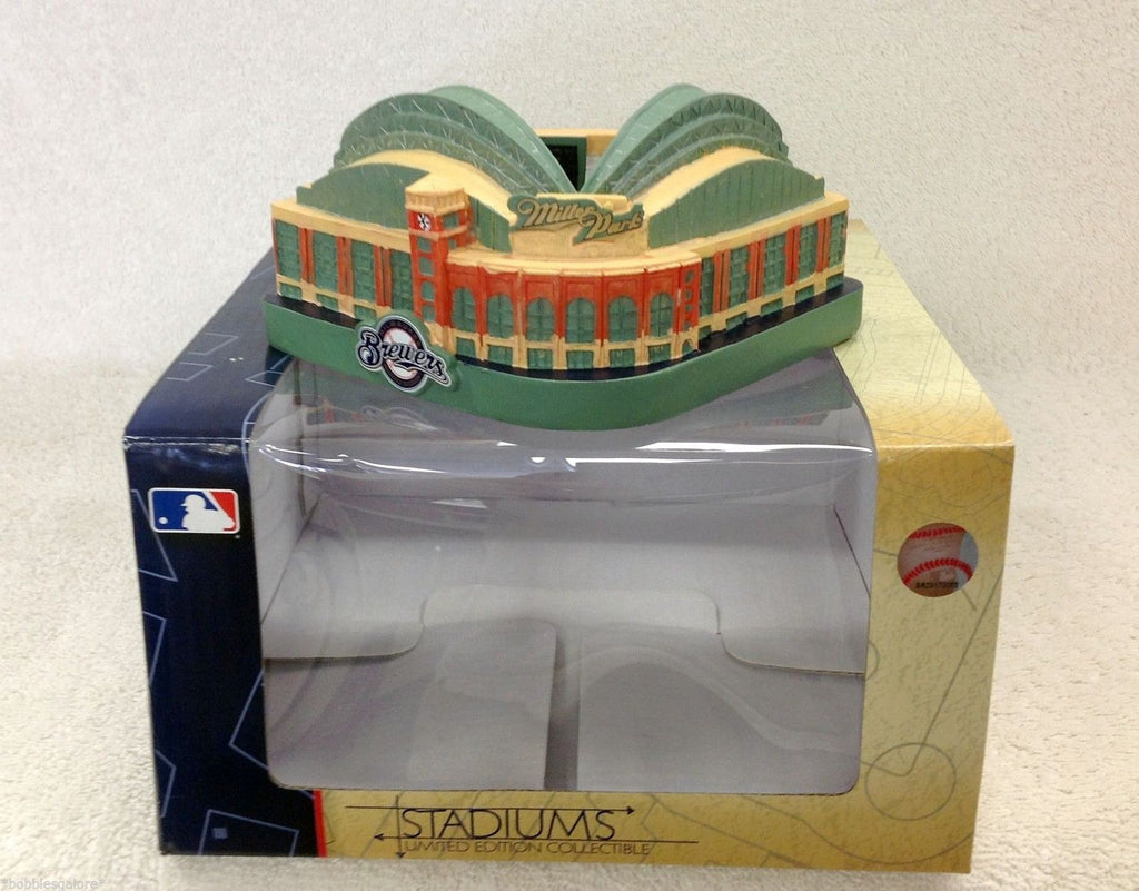 Miller Park Milwaukee Brewers Replica Stadium 2010 Milwaukee Brewers Bobblehead