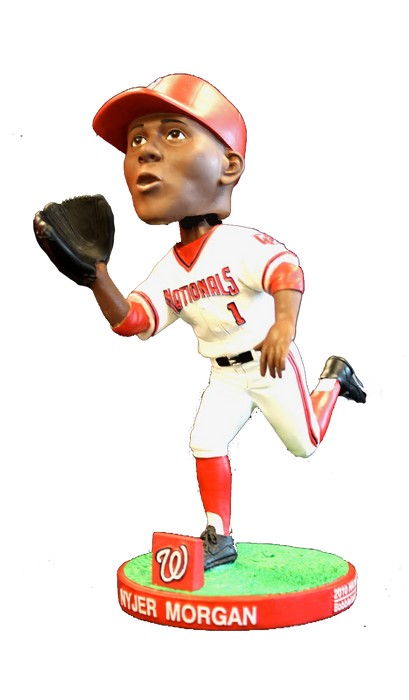 Nyjer Morgan Washington Nationals Pop Fly SGA 2010 Bobblehead