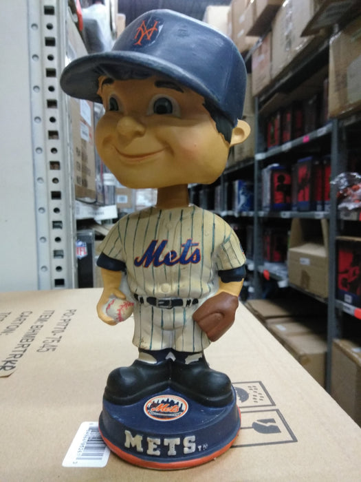Vintage-Boyfaced Mets New York Mets  Bobblehead