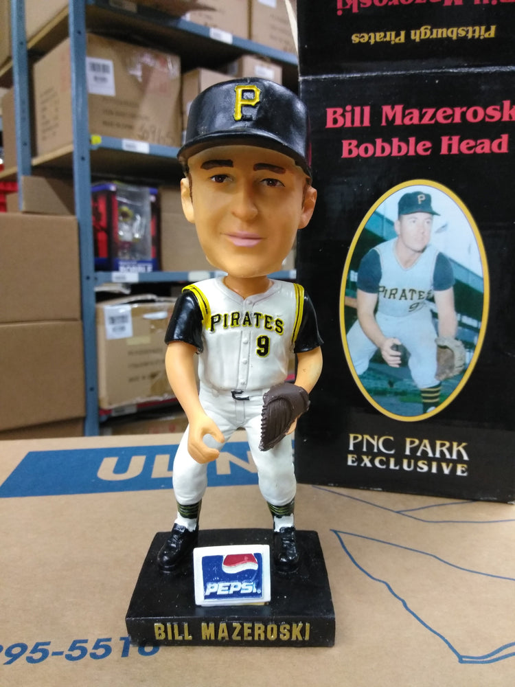 Bill Mazeroski Pittsburgh Pirates  Bobblehead