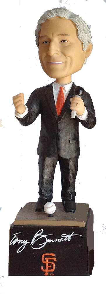 Tony Bennett Singing Bobble SF Giants SGA 2011 San Francisco Giants Bobblehead