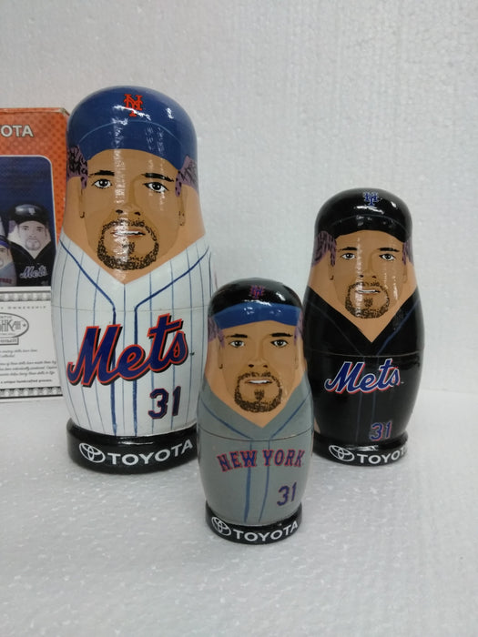 Mike Piazza New York Mets  Nesting Dolls