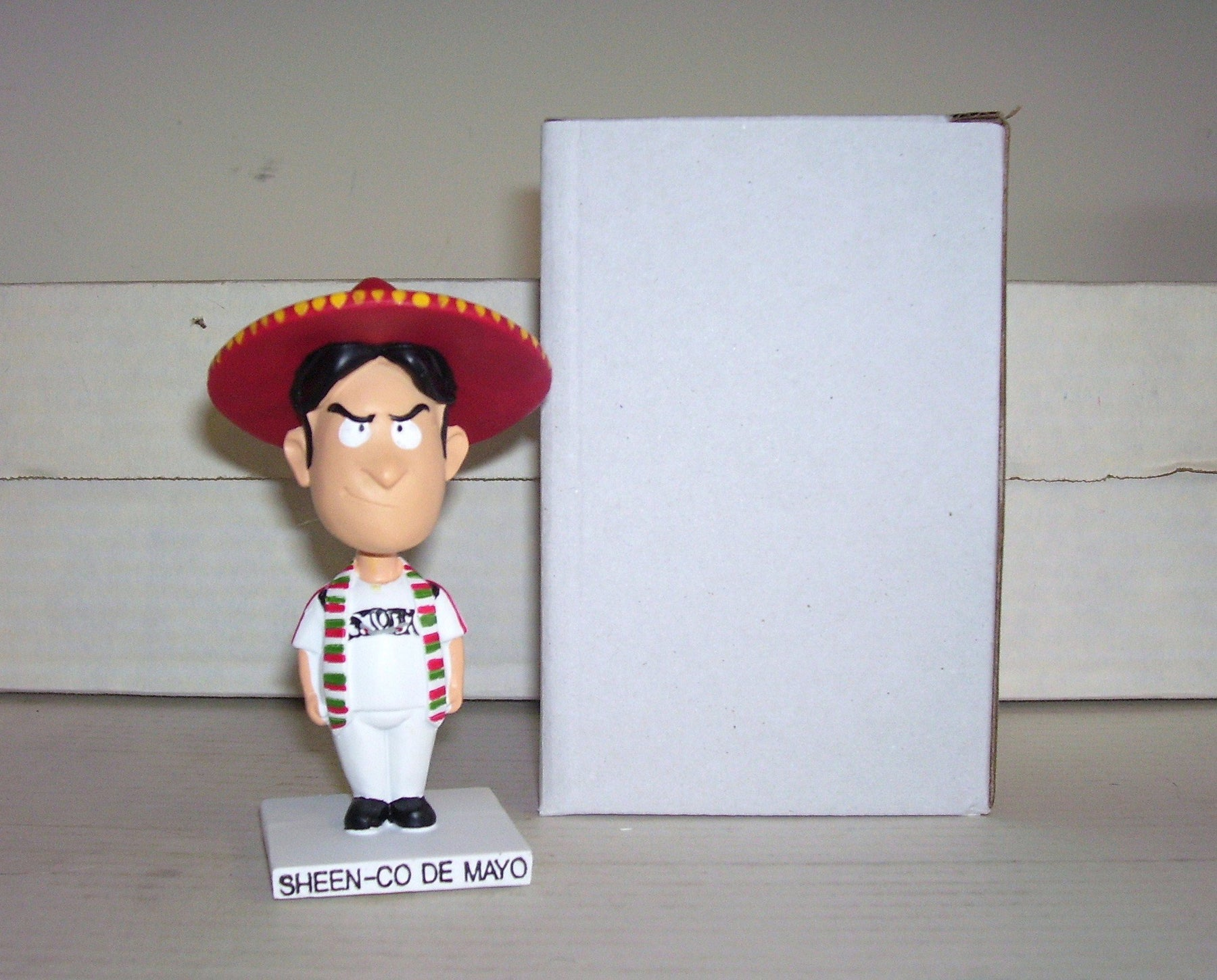 Charlie Sheen Sheen-Co De Mayo Lake Elsinore Storm Bobblehead