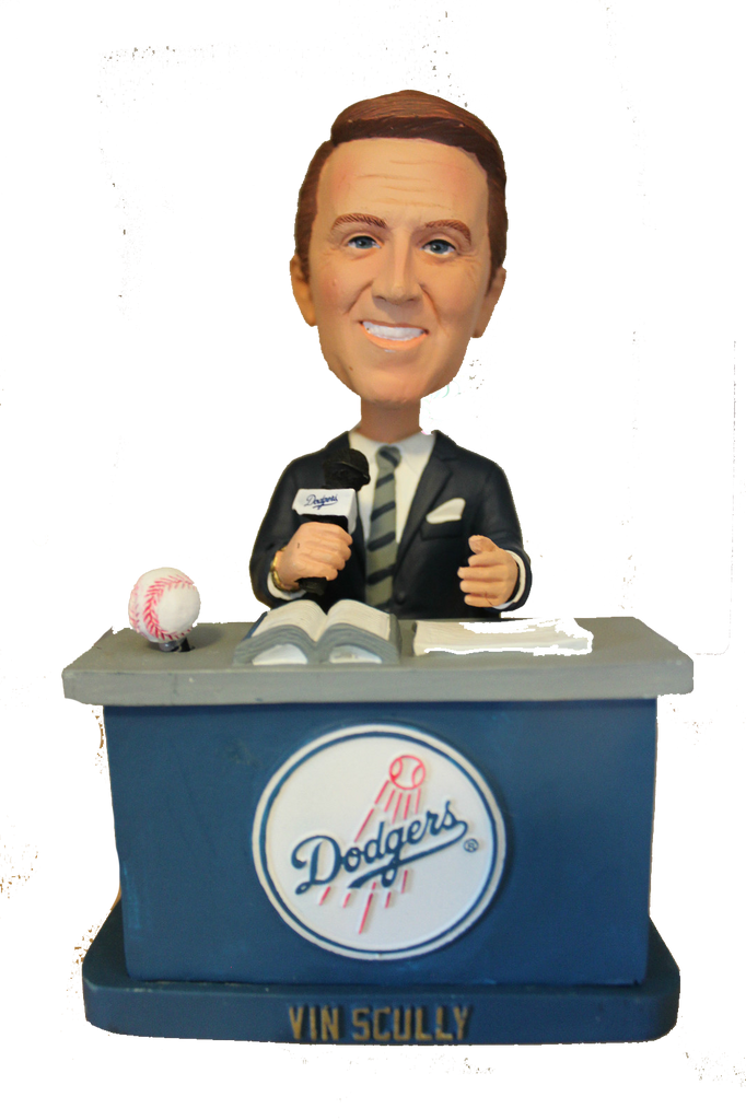 Vin Scully Los Angeles Dodgers Talking Bobble 2012 Bobblehead