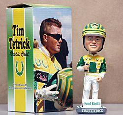 Tim Tetrick  Record Setting 2007, Sponsored by Hoof Beats Bobblehead EQU