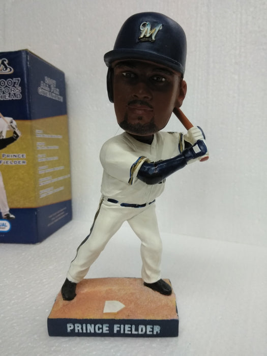 Prince Fielder Milwaukee Brewers  Bobblehead MLB