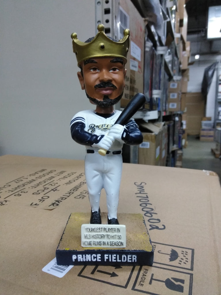 Prince Fielder Milwaukee Brewers  Bobblehead