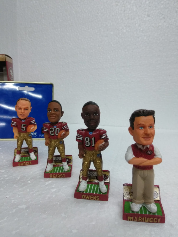 NFL 49ERS MINI SET Bobblehead