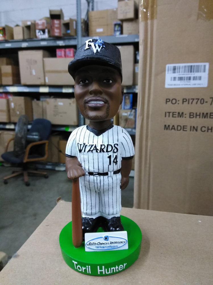 Torii Hunter Fort Wayne Wizards SGA 03 Auto-Owners Bobblehead