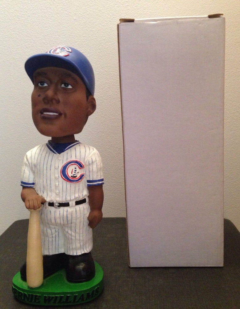 Bernie Williams Columbus Clippers Bobble SGA 2001 Columbus Clippers Bobblehead