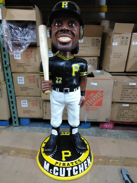 Andrew McCutchen 3 Foot Pittsburgh Pirates Bobble Pittsburgh Pirates Bobblehead