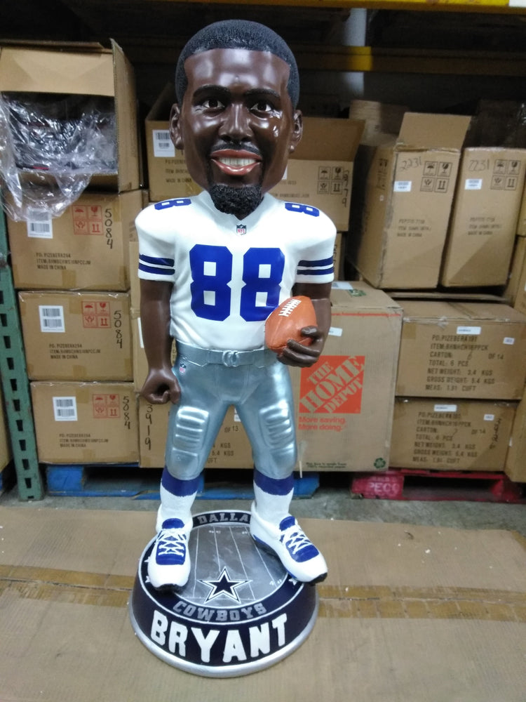 Dez Bryant 3 Foot Dallas Cowboys Bobble White Dallas Cowboys Bobblehead