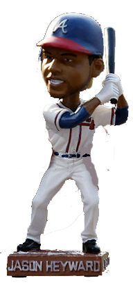Jason Heyward Atlanta Braves  Bobblehead MLB