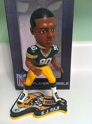BJ Raji Green Bay Packers FoCo Bobblehead NFL