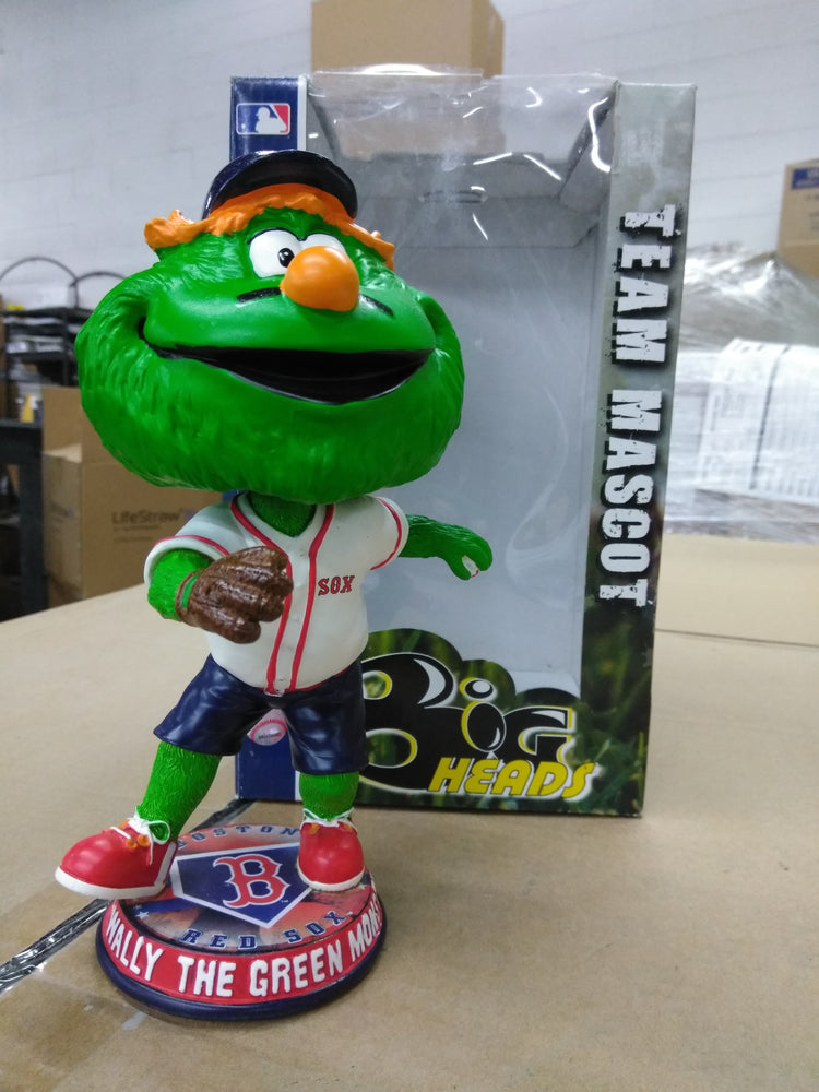 Wally the Green Monster Big Heads Team Mascot FOCO Bobblehead