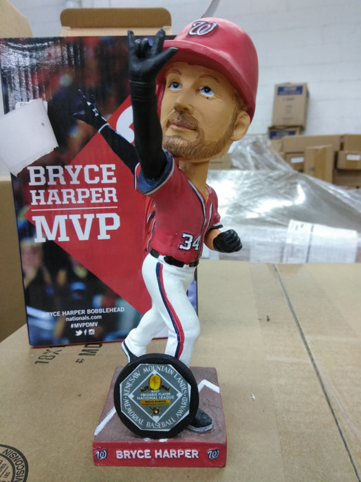 Bryce Harper Washington Nationals 15 MVP SGA 2016  Bobblehead