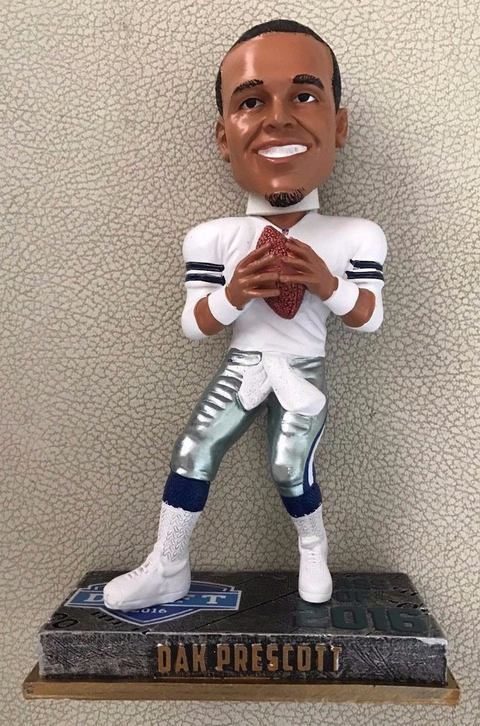 Dak Prescott Dallas Cowboys 2016 Class Bobble FOCO Dallas Cowboys Bobblehead