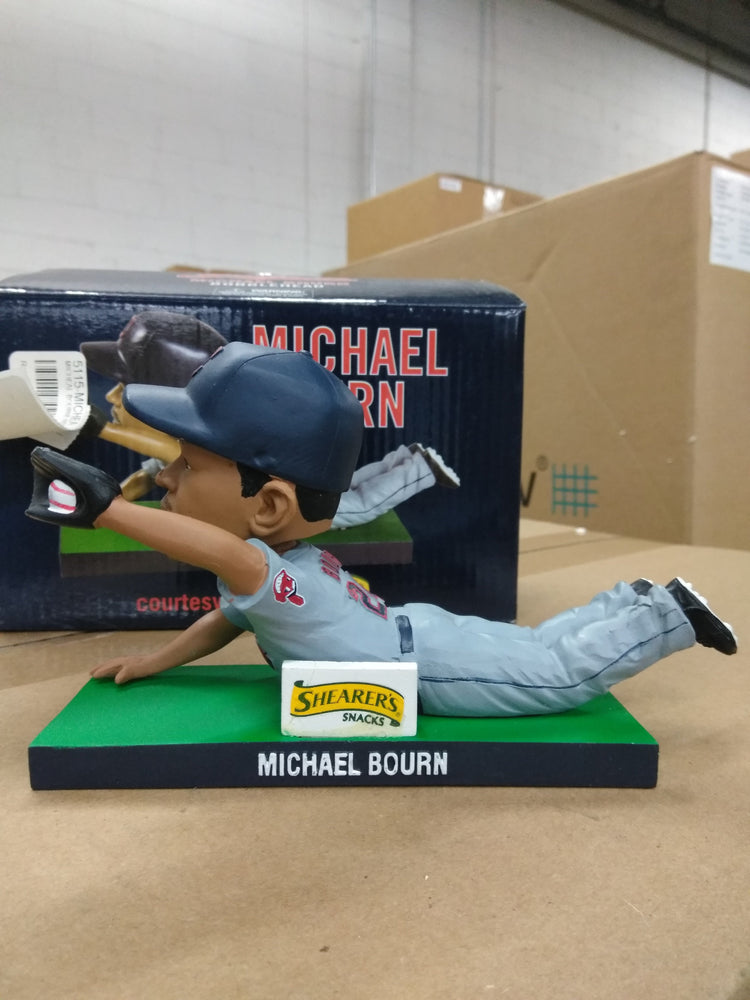Michael Bourn Cleveland Indians Diving Catch SGA  Bobblehead