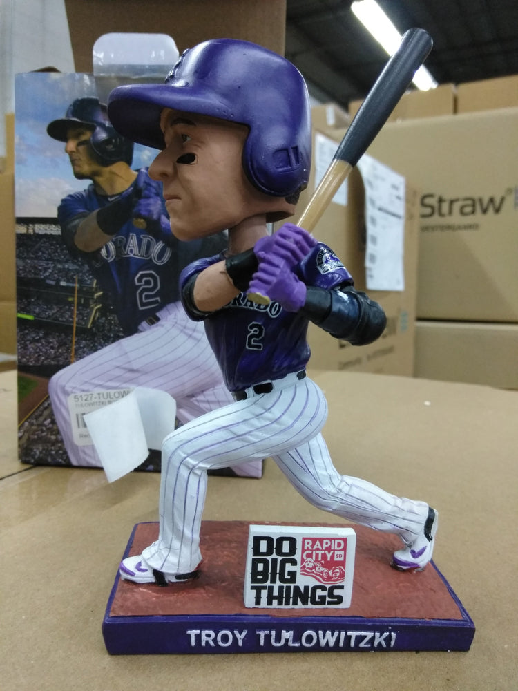 Troy Tulowitzki Colorado Rockies 2015 SGA Batting Bobblehead