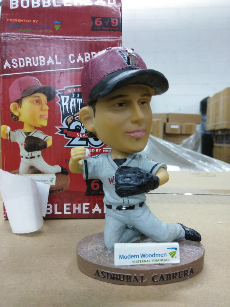 Asdrubal Cabrera Wisconsin Timber Rattlers SGA '14 Bobblehead