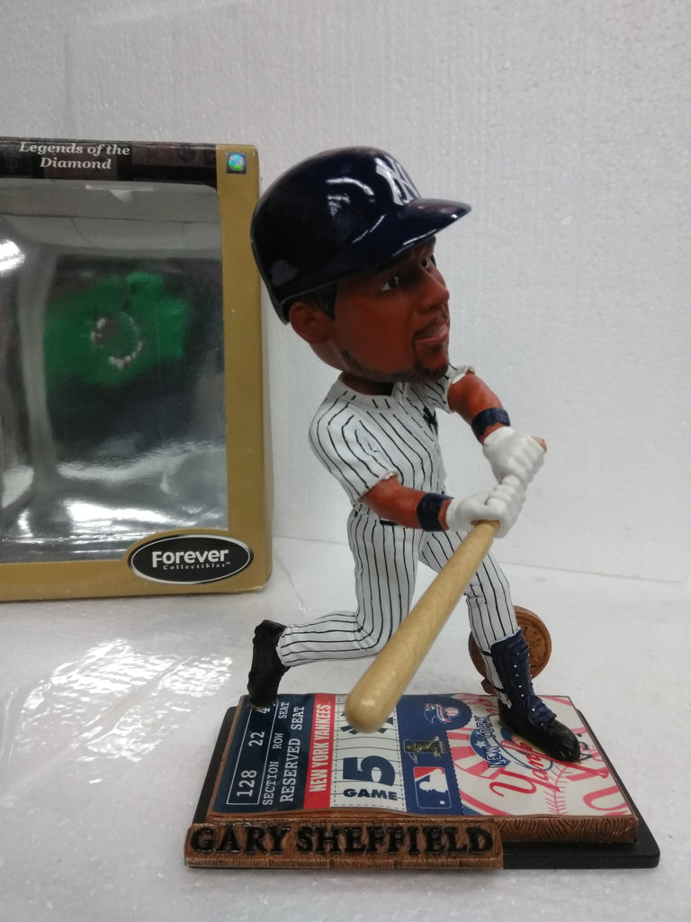 GARY SHEFFIELD 11 NY LEGENDS OF THE DIAMOND Bobblehead